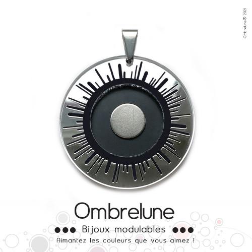 Pendentif MINI «Sunshine» / pendentif aimanté et interchangeable / Bijoux Ombrelune