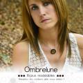 Pendentif en acier MINI «Classic» / pendentif aimanté et interchangeable / Bijoux Ombrelune