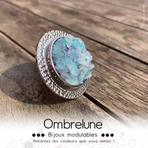 Himalaya 01 / cabochon interchangeable / bijoux aimanté Ombrelune