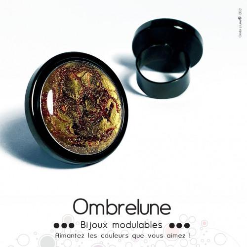Précieux 310821 / cabochon interchangeable / bijoux aimanté Ombrelune